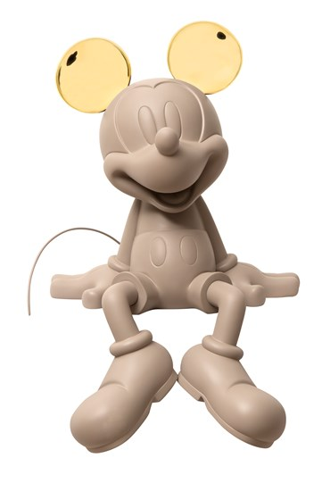 Mickey Take2 by Kelly Hoppen Taupe & Chromed Gold by Leblon Delienne - Limited Edition Sculpture